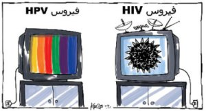 HPV vs HIV media attention