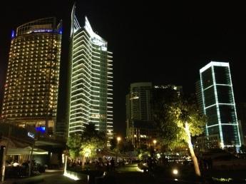 Beirut Waterfront from Zaituna Bay by Hasan Abdessamad