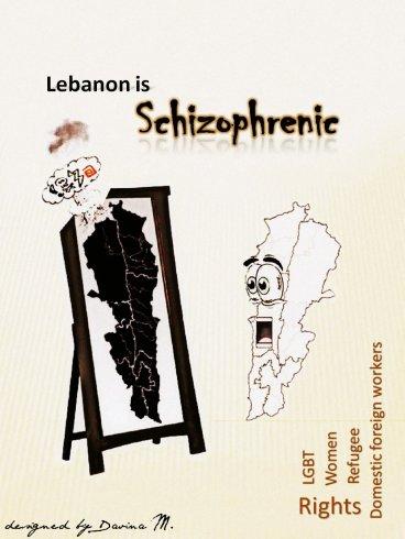 Schizophrenic Lebanon Hasan Abdessamad