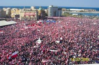 Cedar Revolution Hasan Abdessamad