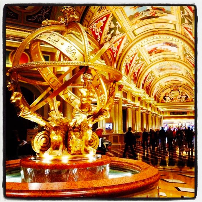 Venetian Hotel Lobby Las Vegas - Dr. Hasan Abdessamad