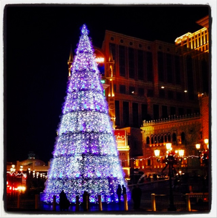 Christmas Tree in Las Vegas by Dr. Hasan Abdessamad