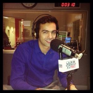 Dr. Hasan Abdessamad on CKNW radio - Vancouver