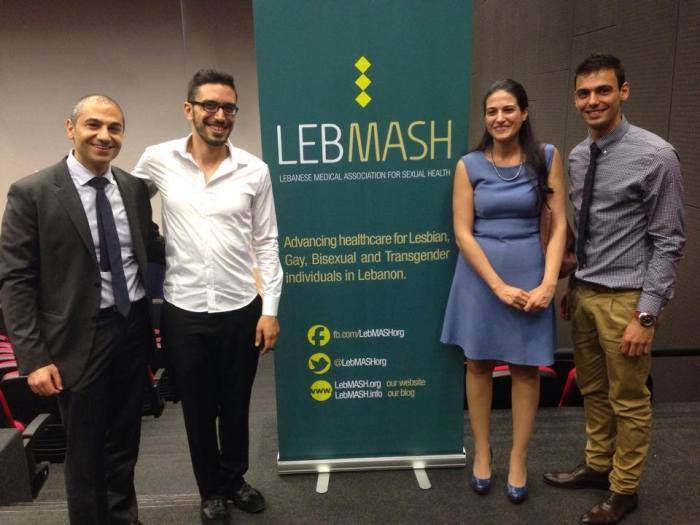 LebMASH at USJ conference on homosexuality - May 2014